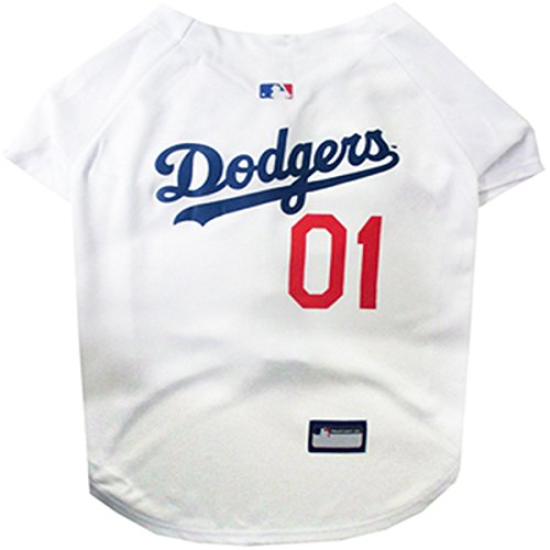 Los Angeles Dodgers Dog Jersey XSmall