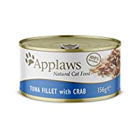 100 Percent Natural - Nothing added, Nothing hidden 55 Percent Tuna Fillet – We only insist on only the highest quality ingredients Tuna Fillet - Natural source of Omega-3 Complementary pet food - Feed with any dry food for a complete and balanced di...
