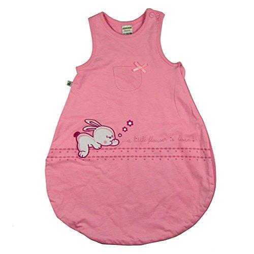 Jacky Baby Mädchen Schlafsack, wattiert, Baby Girl, Alter 0-2 Monate, Größe: 50/56, Farbe: Rosa, 321708