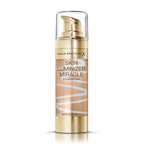 Max Factor Skin Luminizer Foundation Make-Up (45 Warm Almond), 30 ml
