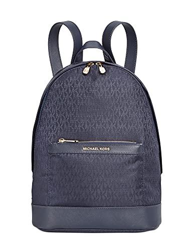 MICHAEL Michael Kors Nylon Backpack Admiral/Gold Color