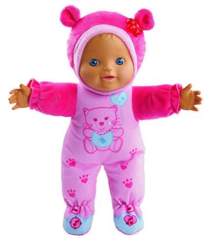 VTech - Rosi bebé, Little Love - Muñeca interactiva para jugar a cucu-trás, incluye canciones de cuna, conoce su estado de ánimo, enseña primeros números, partes del cuerpo (80-169422)