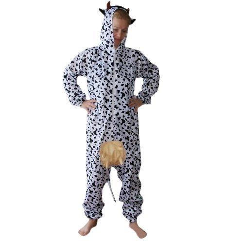 Kuh-Kostüm, AN32 Gr. M, Kuh-Kostüme für Männer und Frauen,Kühe als Gruppen-Kostüme,  Faschings-Kostüme für Fasching Karneval Fasnacht, Faschings-Kostüme, Geschenk Erwachsene
