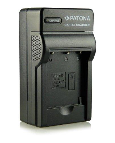 Patona EN-EL19 - Cargador 3 en 1 para Nikon Coolpix S100, S2500, S2550, S2600, S2700, S2750, S3100, S3200, S3300, S3500, S4100, S4150, S4200, S4300, S5200, S6400 y S6500