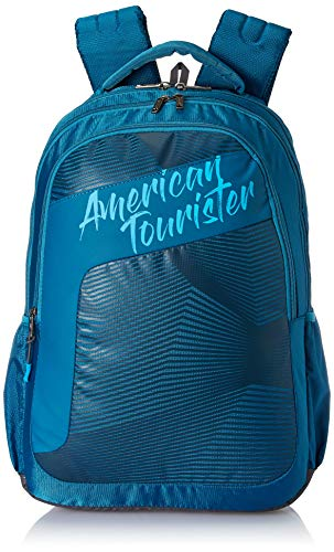 American Tourister Dazz 47 cms Blue Casual Backpack (FU5 (0) 01 001)