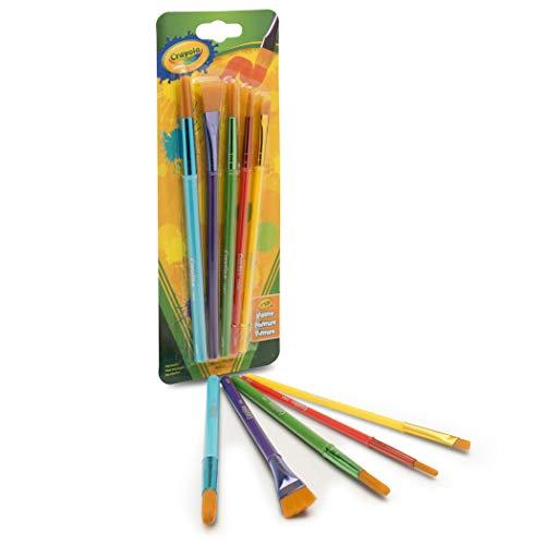Crayola Arts & Craft Brushes, Assorted 1 ea