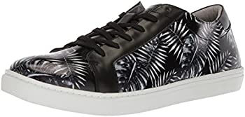 Kenneth Cole Mens Kam Leaf Leather Sneaker