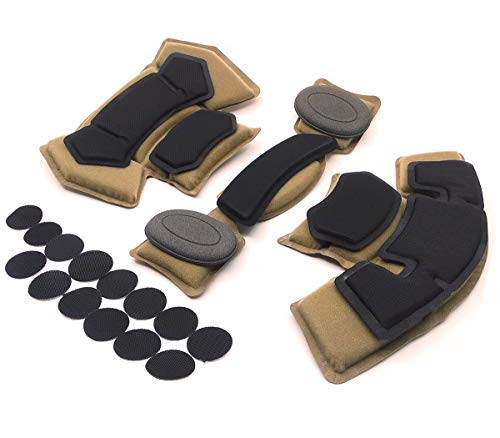 Tactical Airsoft Helmet Pads FMA Internal Foam Protective Cushion Accessories Liner System for Fast MT MICH IBH AF ACH Outdoor Paintball Helmet