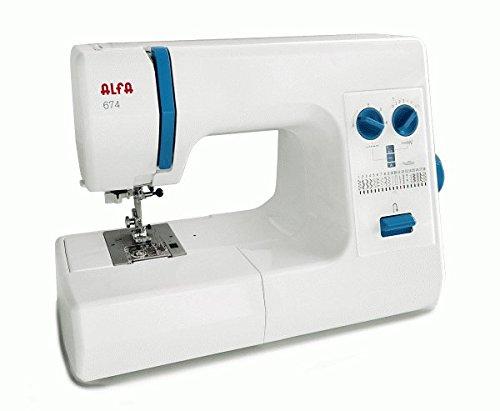 Maquina de coser Alfa 674 Profesional