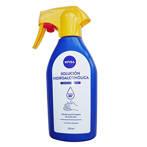 Nivea HIDROALC.Spray 250ML, Negro, Estandar