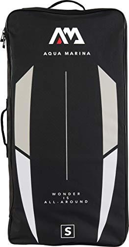 AM AQUA MARINA Reißverschluss-Rucksack für iSUP und Zubehör Größe L (Monster/Magma/Atlas/Hyper/Blade) Schwarz/Weiß