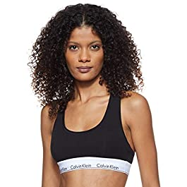 Calvin Klein Women's Modern Cotton – Bralette Sports Bra
