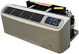 Islandaire EZ Series 42 Packaged Terminal Air Conditioner, 15000 BTU Nominal Cooling with Heat Pump, 230v 30 amp, Dual Stage 5.0Kw Electric Heat, Unit Mounted Electronic Controls