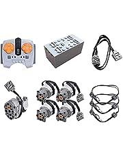 LICI Technik Power Functions Kit, APP Dual Afstandsbediening Servomotor Afstandsbediening Compatibel met Lego Technic