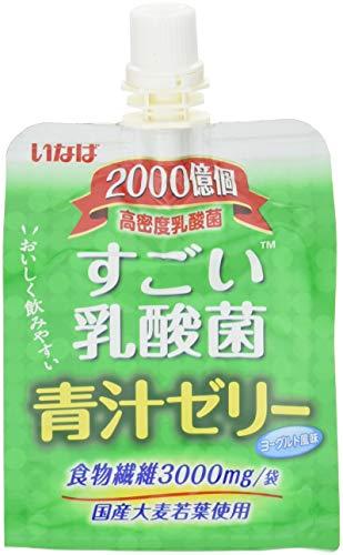いなば すごい乳酸菌 青汁ゼリー 180g ×30個