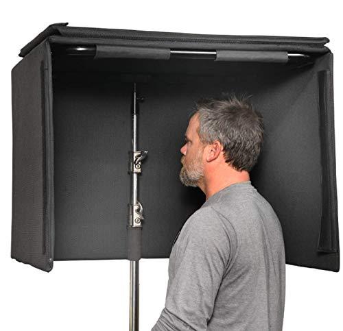 Koncept Innovators Glide Gear SB100 Portable Isolation Sound Booth for C-Stand or Desktop
