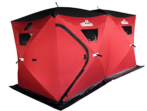 Ice Cube 6 Man Portable Ice Shelter by ThunderBay