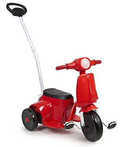Feber Scooter 3x1 - Motocicleta eléctrica, para niños y niñas a partir de 3 años, 6V (Famosa 800012392)