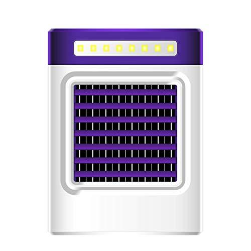 YWLINK Be Quitek Klimaanlage Fan Sicherheit Umweltschutz 0 Strahlung Mini Portable Aufladen LüFter Multifunktional Mobile Energie LED-Licht