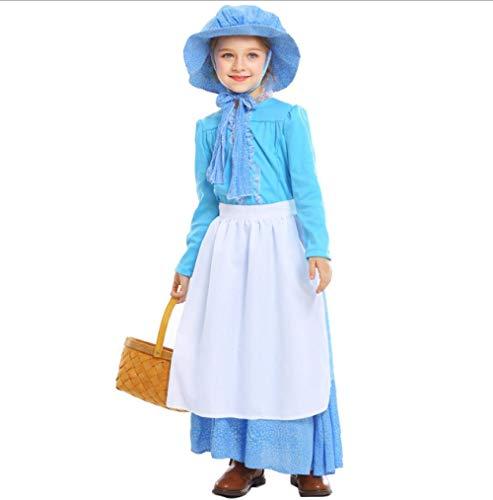 XYL Kostuum Cosplay Party aankleden Outfit/Fairy Tales/Fancy Party Jurk Blauw zacht meisje jurk meid service