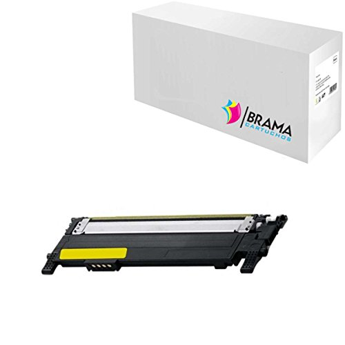 Bramacartuchos - Tóner compatible NON OEM SAMSUNG CLT-Y406S Amarillo (1000 copias), Samsung CLP-360, CLP-365, CLP-365w, CLX-3300, CLX-3305fn, CLX-3305fw, CLX-3305w,CLX-3305, Xpress SL-C410w, SL-C460W, SL-C460fw