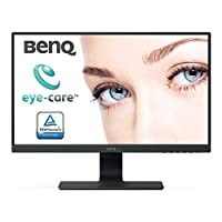"BenQ GW2480 - Monitor de 23.8"" FullHD (1920x1080, 5ms, 60Hz, HDMI, IPS, DisplayPort, VGA, Altavoces, E2E, Eye-care, Sensor Brillo Inteligente, Flicker-free, Low Blue Light, antireflejos) - Color Negro"