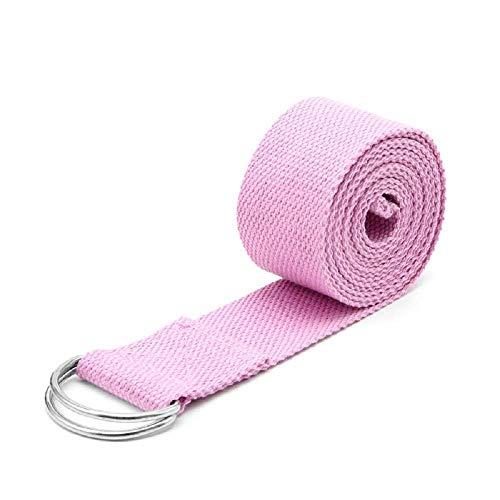 Riem - 180 x 4 cm - yogastretching pilates resistente metalen ringen rekoefeningen gymnastiek fysiotherapie