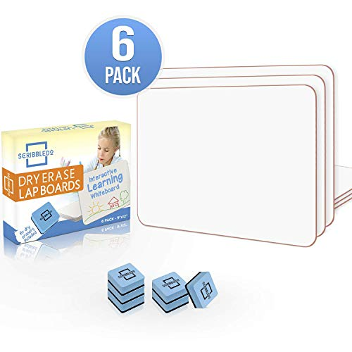 top 10 dry erase boards Set of 6 dry erase cards 9 ″ X12
