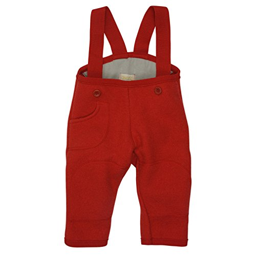 Disana 33303XX - Walk-Hose Wolle rot, Size / Größe:74/80 (6-12 Monate)