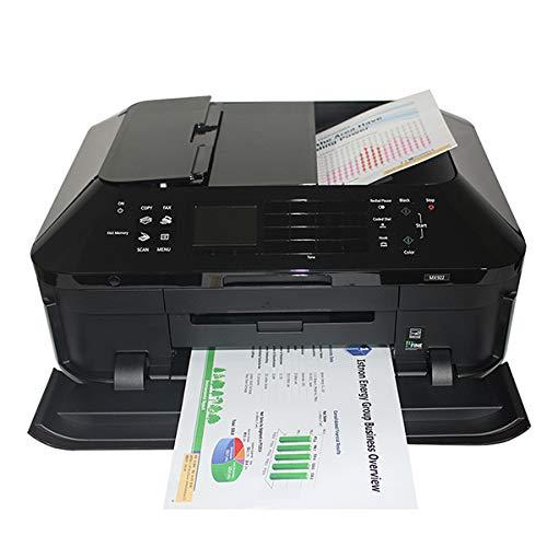 TANCEQI Impresora Multifunción de Tinta (5-Color de Los Cartuchos, Impresora, Escáner, Copiadora, Fax, Impresión a Sin Bordes Doble Cara Automática)