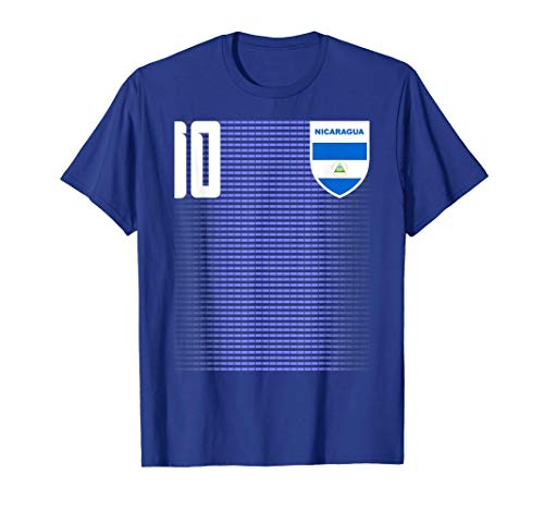 Nicaragua Nica Soccer Jersey T-Shirt