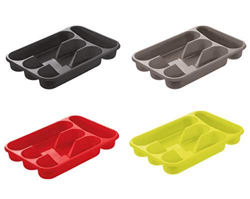 Blim portaposate e Organizer per cassetto, Multicolore, 32x 22x 4.5cm