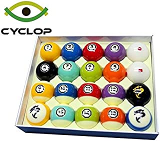 Cyclop Hyperion Tournament TV Set Billiard/Pool Hyper Balls