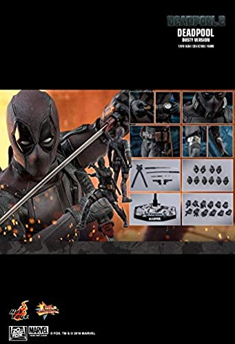 Hot Toys MMS502 - Marvel Comics - Deadpool 2 - Deadpool Dusty Version