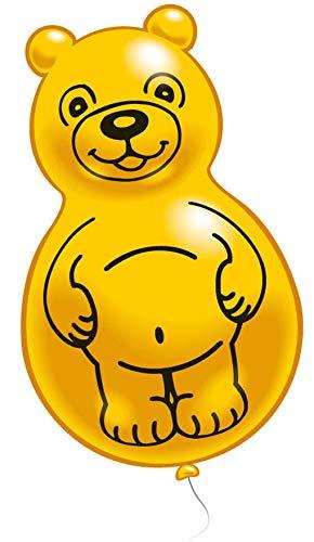 Horror-Shop Latex Teddybär Luftballons