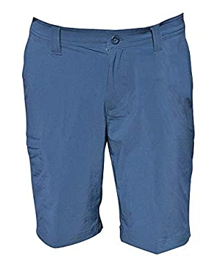 Columbia Men's Angus Springs Omni-Shade Shorts Regular Fit UPF 50 Fossil 34 (36, Whale)