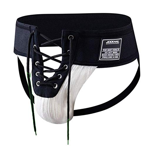 "HJBK Sexy Thong Men Jockstrap Underwear Cordón Camuflaje Verde, 3.15 ""Cintura String Homme Tanga Slip Underwear"