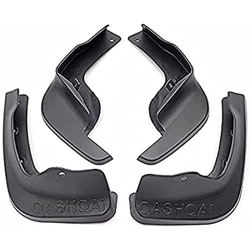 ZHFF 4 Pcs Coche ABS Salpicaduras Guardabarros, para Nissan Qashqai J11 2014-2019 Auto ProteccióN Cubierta Delantero Trasero Mudguards Stylling Accesorios