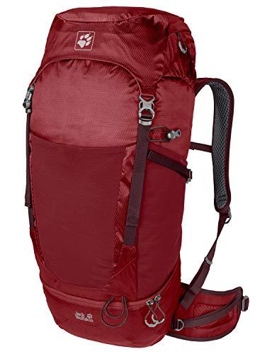 Jack Wolfskin KALARI Trail 42 Pack Trekking Reise Rucksack, red Maroon, ONE Size