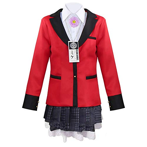 Wish Costume Compulsive Gambler Yumemi Yumemite Cosplay Costume (M, Yumemite Yumemi Cosplay)
