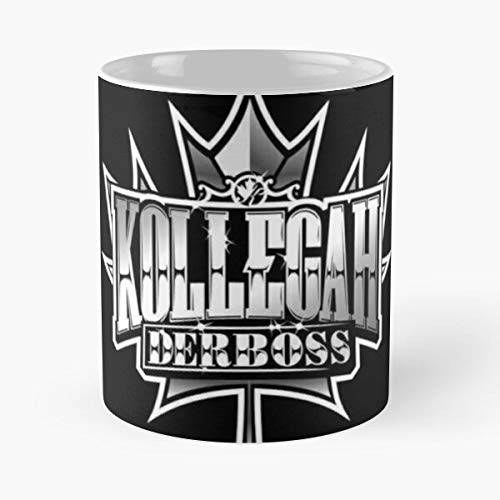 Boss Collection Der Kollegah Best 11 Ounce Ceramic Coffee Mug Best 11 oz Kaffeebecher - Nespresso Tassen Kaffee Motive !
