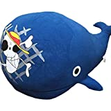 Fashion Gift Supply ONE Piece Raab Laboon Plush Doll The Straw Hat Pirates Sign Whale Island Stuffed Toy