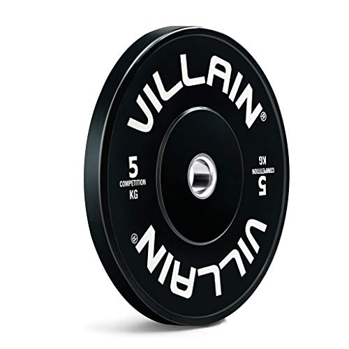 Discos de Pesas Discos Olímpicos Negro de goma placas de peso placas con barra parachoques Olímpico Placa pesas aparatos de ejercicios de fuerza Discos de Pesas para Musculación ( tamaño : 20kg )