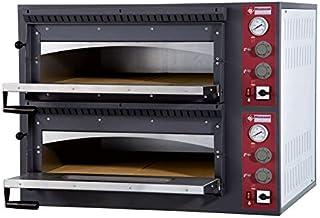 Horno para pizzas eléctrico–2x 4pizzas (33cm de diámetro)