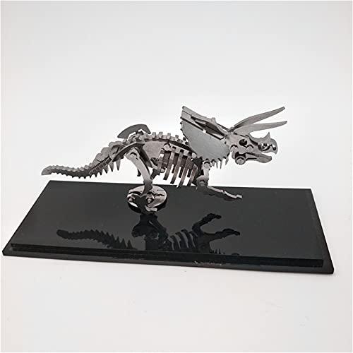 DYJD Steel Warcraft 3D Metal Puzzle - Dinosaur Scorpion 3D Metallo Assemblea Metallo DIY Modello Meccanico Kit Puzzle, Modelli Animali Assemblato Manu