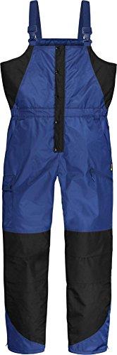 normani Winter Thermohose Regenhose mit Hosenträgern rundum Wetterschutz Dank hochgeschnittener Taille Farbe Marine Größe XL