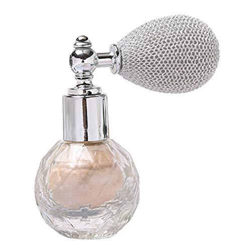 Bulary Pressed Powder Loses Puder Spray, Glitter Puder Spray, Beauty Sparkling Shimmer Sparkle Puder, Makeup Body Dust Glitter, Moisturizing Brightening Aroma Shimmering Spray