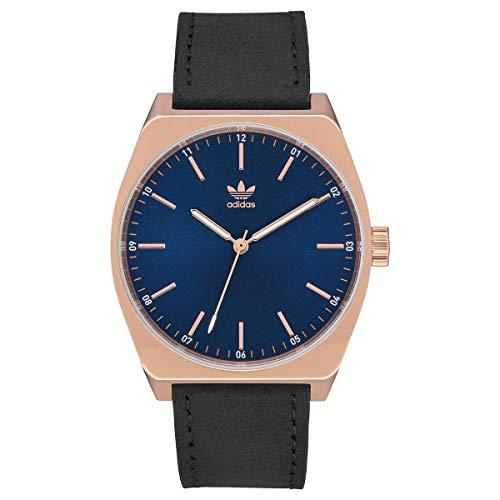 Adidas Herren Analog Quarz Smart Watch Armbanduhr mit Leder Armband Z05-2967-00