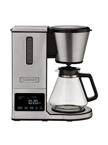 Cuisinart CPO-800P1 PurePrecision 8 Cup Pour-Over Coffee Brewer, Silver