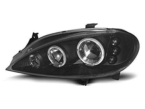 1 paar koplampen, Megane 99-02 Angel Eyes zwart (E10)